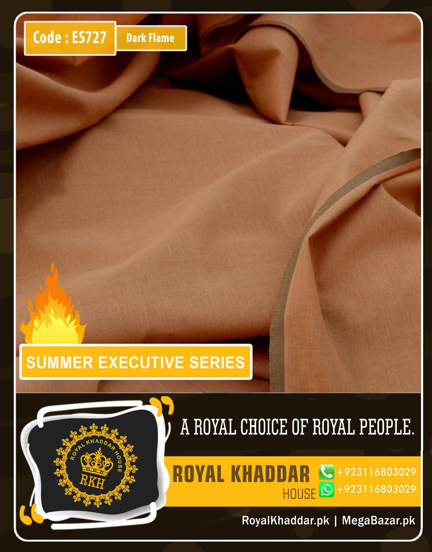 Dark Flame Summer Khaddar ES727